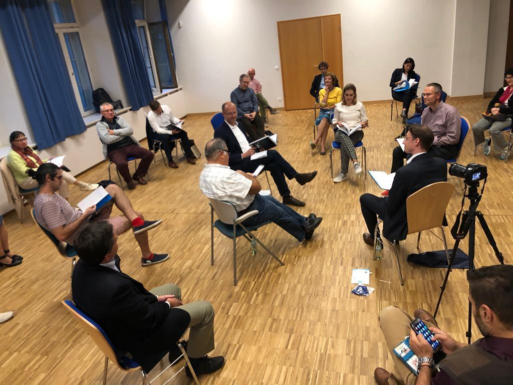 VHI research associates present papers at the 'Hafis-Menschenrechtsdialog Weimar' workshop